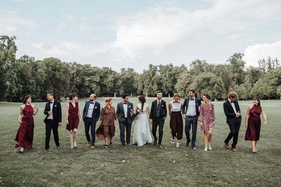 photographe mariage abbaye trois fontaines